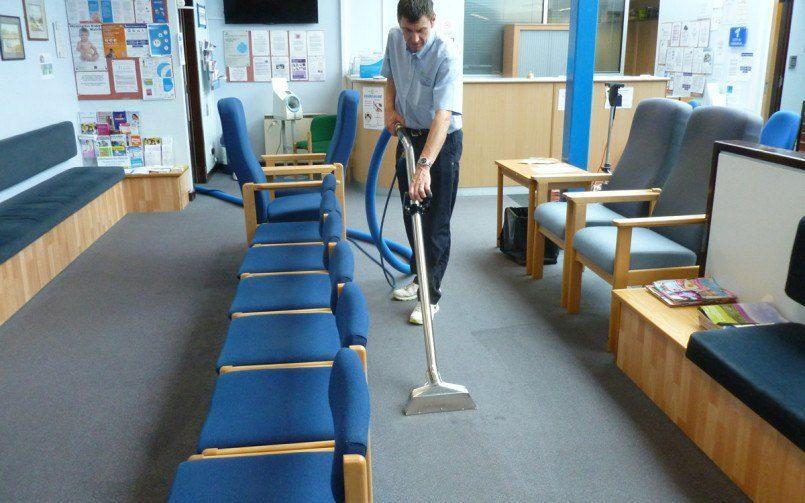 Carpet cleaning Dawlish Surgery