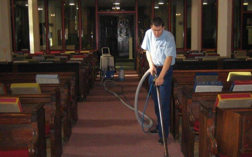 Church carpet cleaning Teignmouth