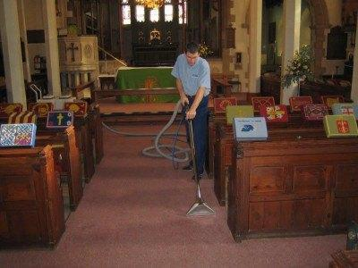 Church carpet cleaning Teignmuth