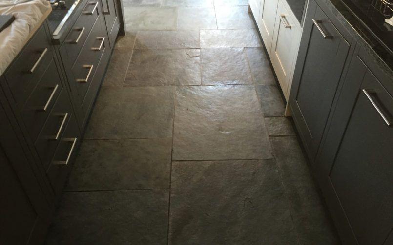 Slate floor cleaning in cockwood