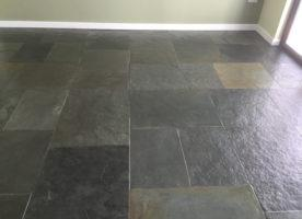 Slate floor cleaning in Cockwood