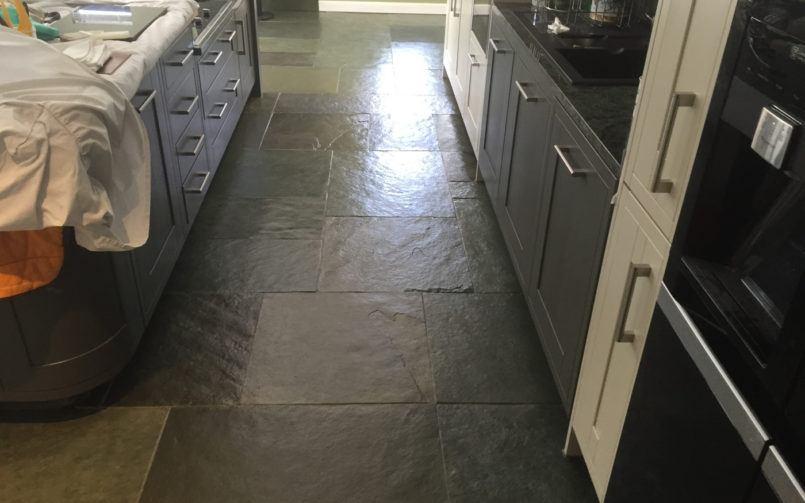 slate floor cleaning Cockwood