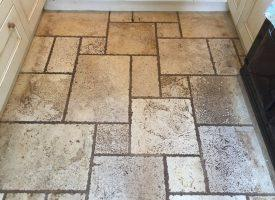 Travertine floor cleaning Teignbridge